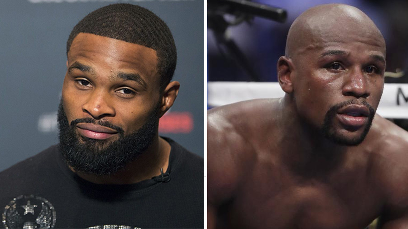 Tyron Woodley: Mayweather starts next week the training in the cage