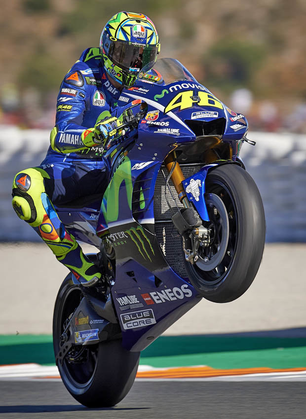 They say he is too old, but Rossi has a nice answer