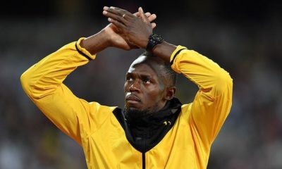 Usain Bolt in training with Borussia Dortmund