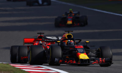 Ricciardo triumphed in Shanghai, Verstappen undermined the Vettel race